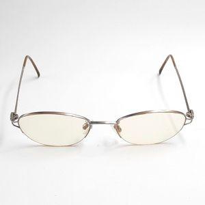 Anne Klein K1211-S Silver Oval Sunglasses Frames